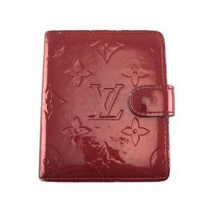 Louis Vuitton Vernis Leather Wallet card holder